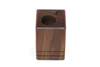 Walnut Receipt Holder – Wood credit card, receipt and pen holder