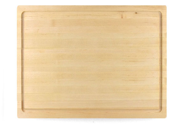 LARGE 1 3/4 INCH MAPLE BUTCHER BLOCK WITH JUICE GROOVE