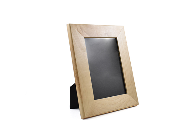Solid maple wood picture frame for 5