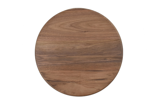 Round 15 inch wood cutting board