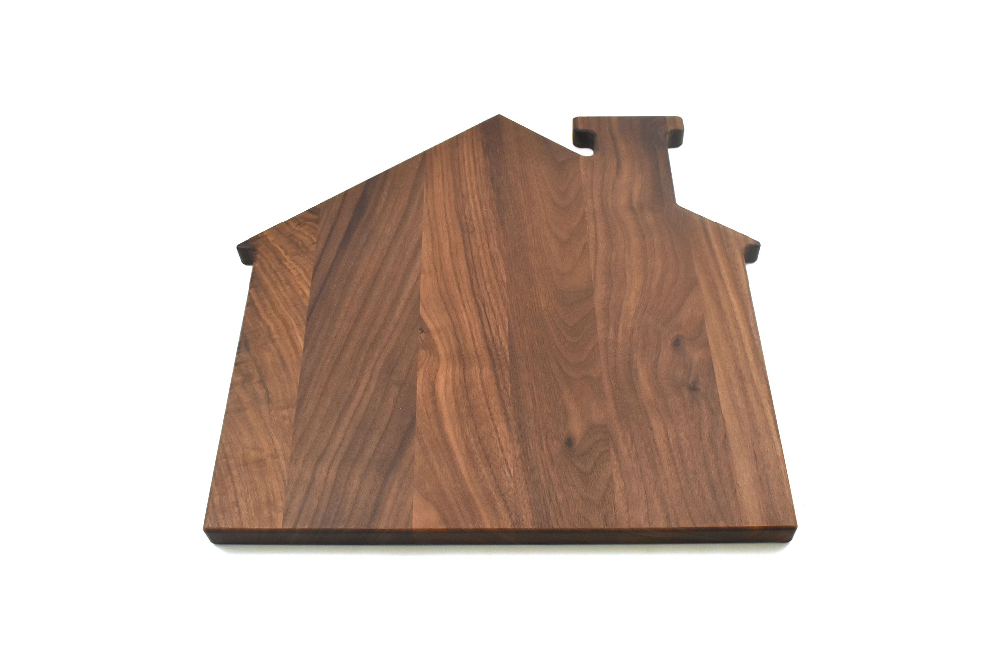 Walnut house cutting board