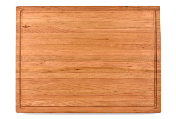 LARGE 1 3/4 INCH WALNUT BUTCHER BLOCK WITH JUICE GROOVE
