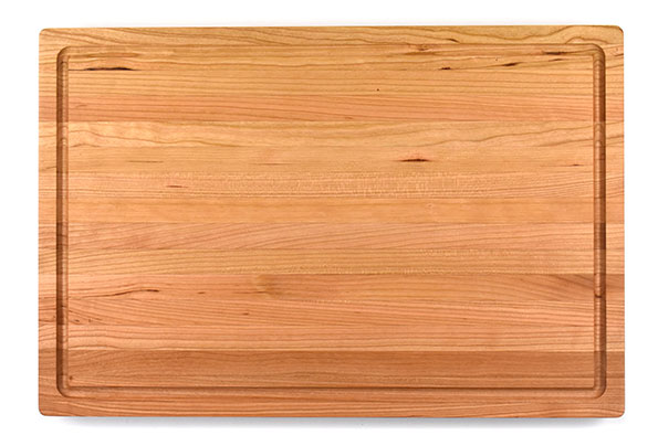 CHERRY 1 1/4 INCH BUTCHER BLOCK WITH JUICE GROOVE