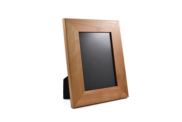 Solid cherry wood picture frame for 5