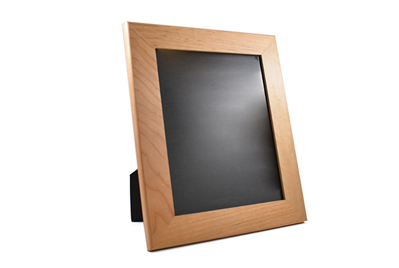 Solid cherry wood picture frame for 8