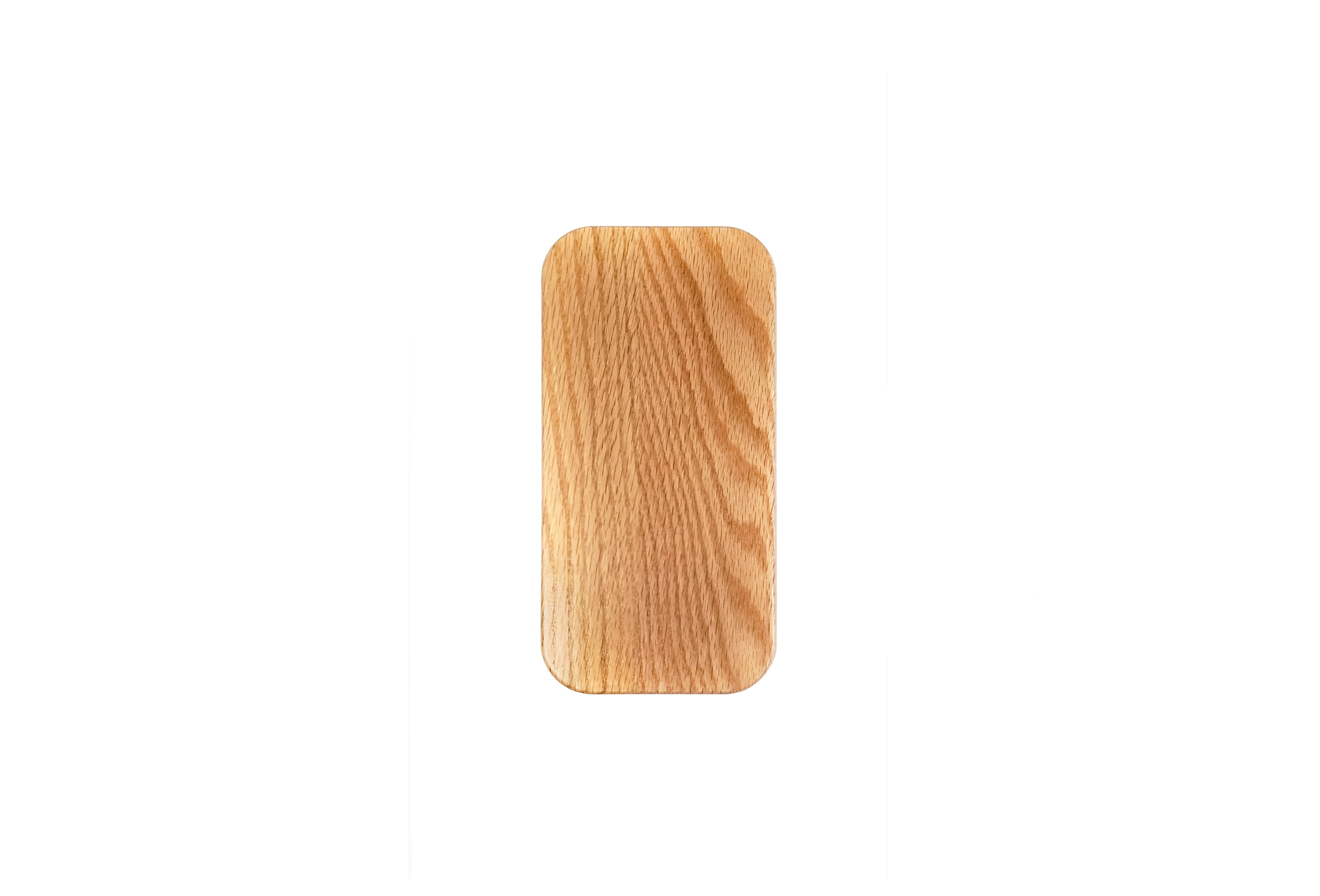 Red Oak Check presenter with metail clip