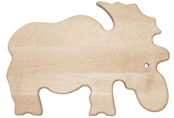 Moose shaped cutting board