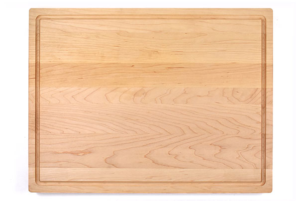Maple flat grain butcher board