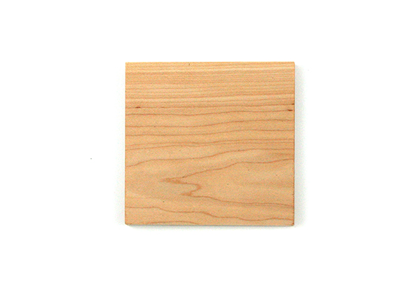 Square Maple Coaster