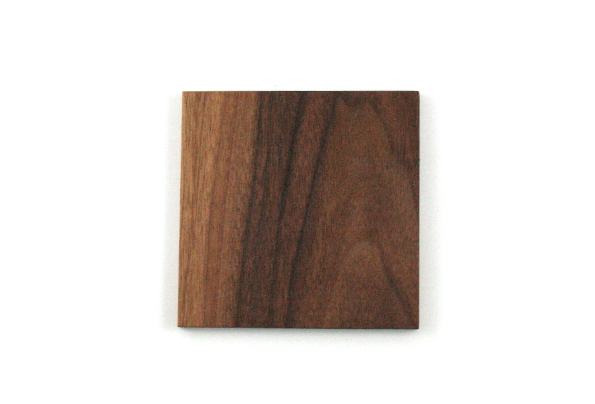 Walnut Square coasters