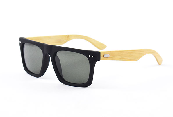 Polarized Sunglasses with bambooarms polarized lense - Adult