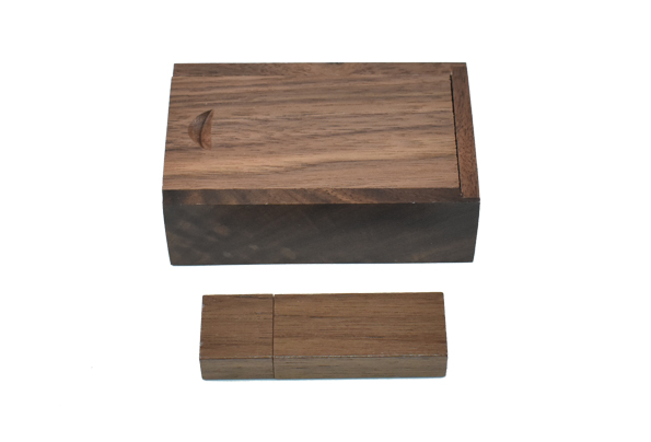 Wooden USB key 16GB with Wooden Case