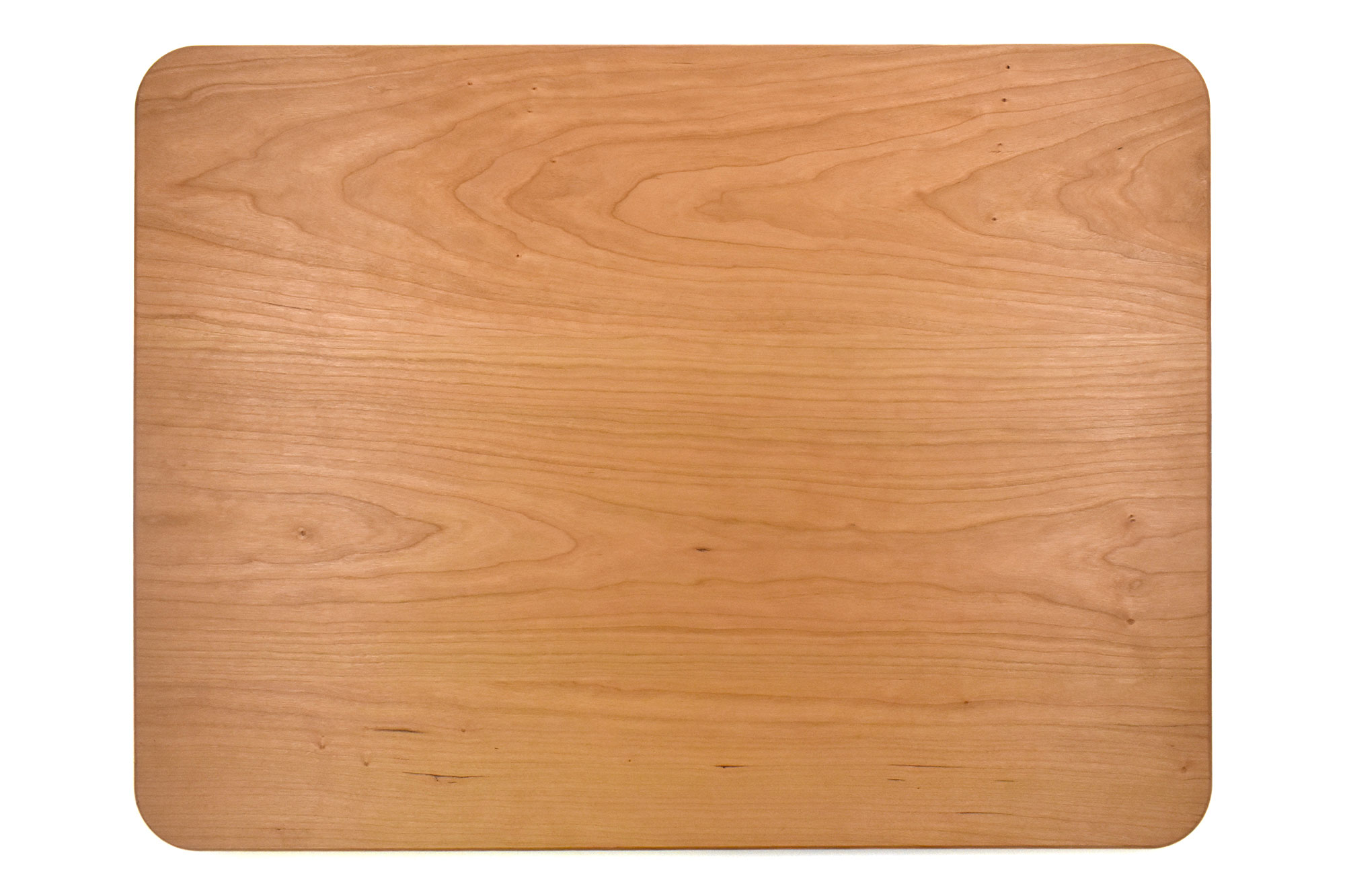 Back of 1 1/4 Butcher board with juice groove