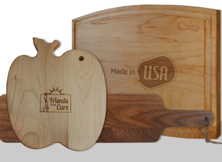 High Quality Engraved Cutting Boards for Events and Branding
