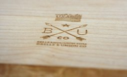 wood cutting boards for events and branding